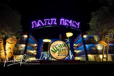 Jazz Inn at Night, All Star Music Resort