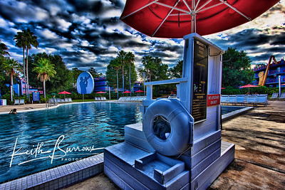 Life Guard Station, All Star Music Resort