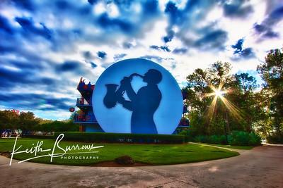 Sax Sunrise,Disney's  All Star Music Resort