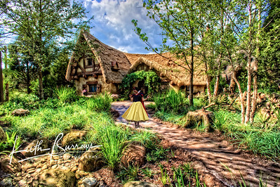 SNOW WHITE with COTTAGE1