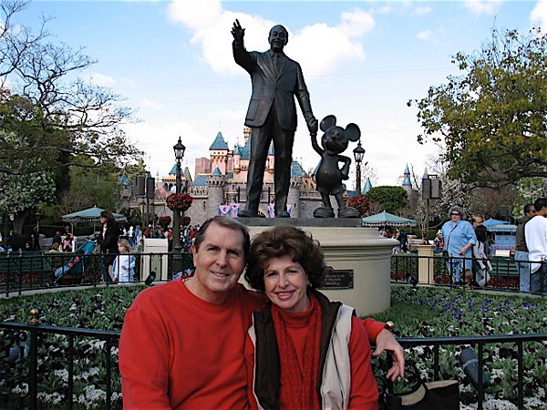 Disneyland with Betty, Paul and myself Monday (President's Day) February 12, 2007 - 36
