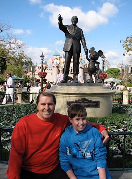 Disneyland with Betty, Paul and myself Monday (President's Day) February 12, 2007 - 35