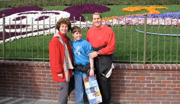 Disneyland with Betty, Paul and myself Monday (President's Day) February 12, 2007 - 3
