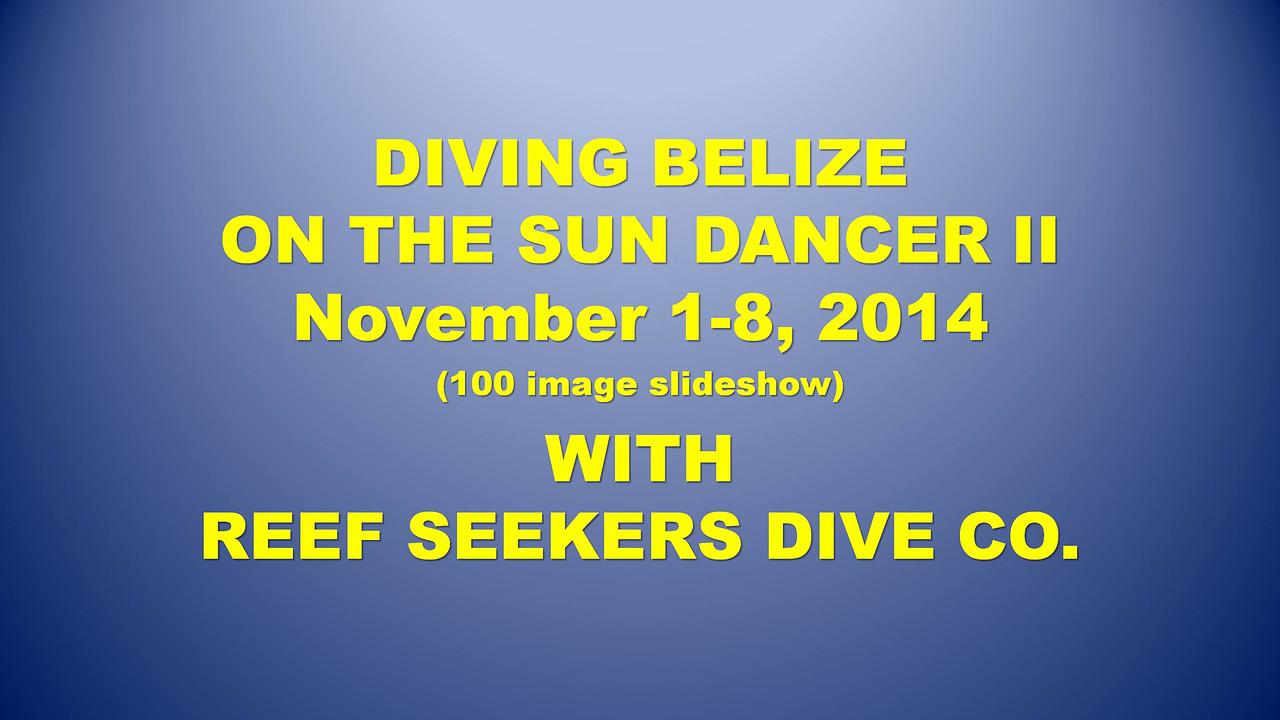 SmugMug title slides (Belize 2014)