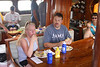 Kim and Darin and the welcome aboard lunch.