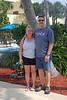 Kim and Darin at the Hilton, pre-trip.