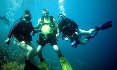The Cargillians.  Shannon, Chris and Debbie