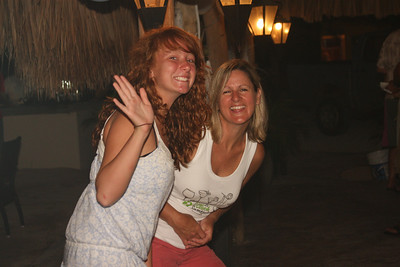 Shannon and Debbie.  Only one of them has been into the 'rum punch'