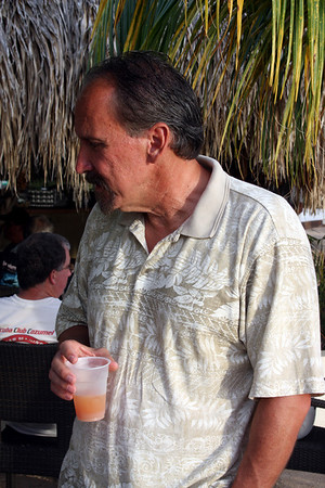 Vince checkin' out the rum punch