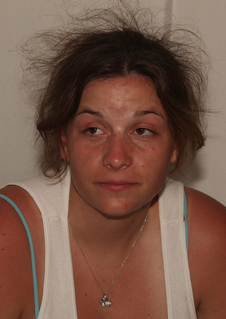Looks like a booking photo . . . can you say Nick Nolte?