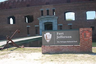 Civil War era Fort Jefferson
