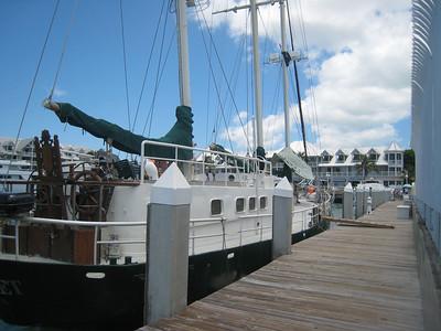 The Juliet, dockside.