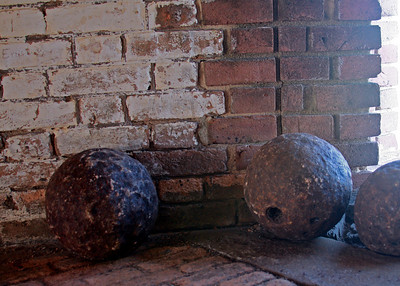 10-inch cannon balls