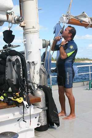 One of the best things was filling the wet suit with hot water after the dive as demonstrated by Greg