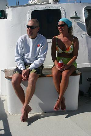 Pat and Deb