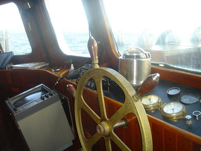 Captain's wheel house