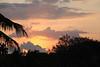Sunset from the upper deck at Sharkeys
