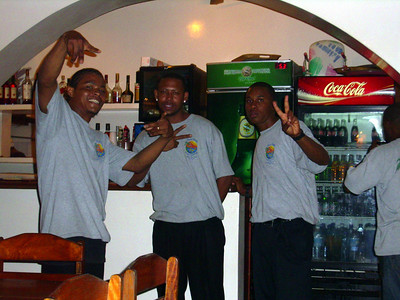 Most of our regular waiter staff.