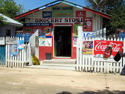 Roatan's version of 7-11 without the day-old hot dogs.