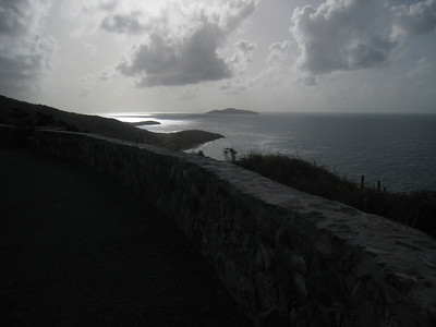 Looking west from the eastern most point of the United States (St. Croix is a property of the United States).