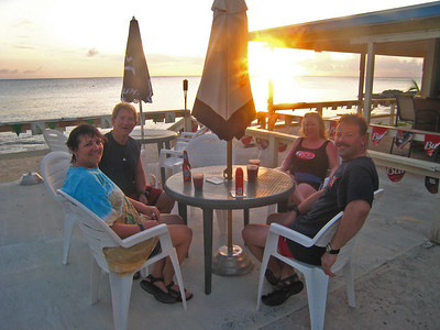 Sunset dinner at Coconuts