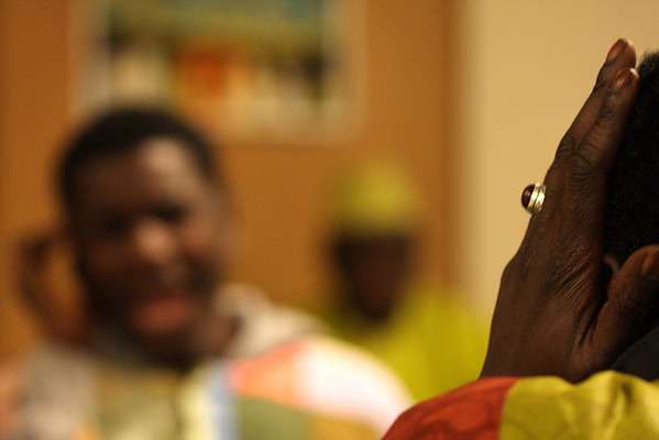 In October I was lucky to get a closer look at the Senegalese sofism (Mouridism). Cheikh Serigne Mame Mor Mbacke visited the Senegalese Mourideen in Amsterdam and I was there indeed with the camera.