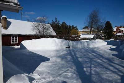 Vinterbilder Villagatan9 Mars 2018