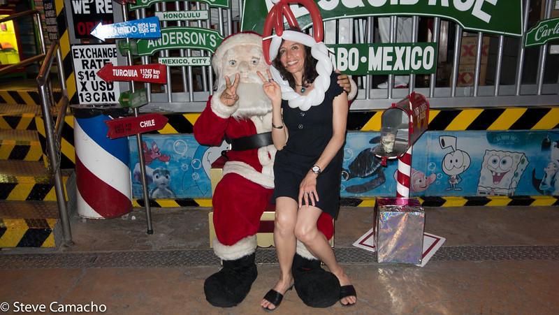 For Xmas Santa I want world Peace