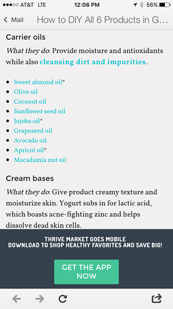 DIY Organic Skincare Recipes