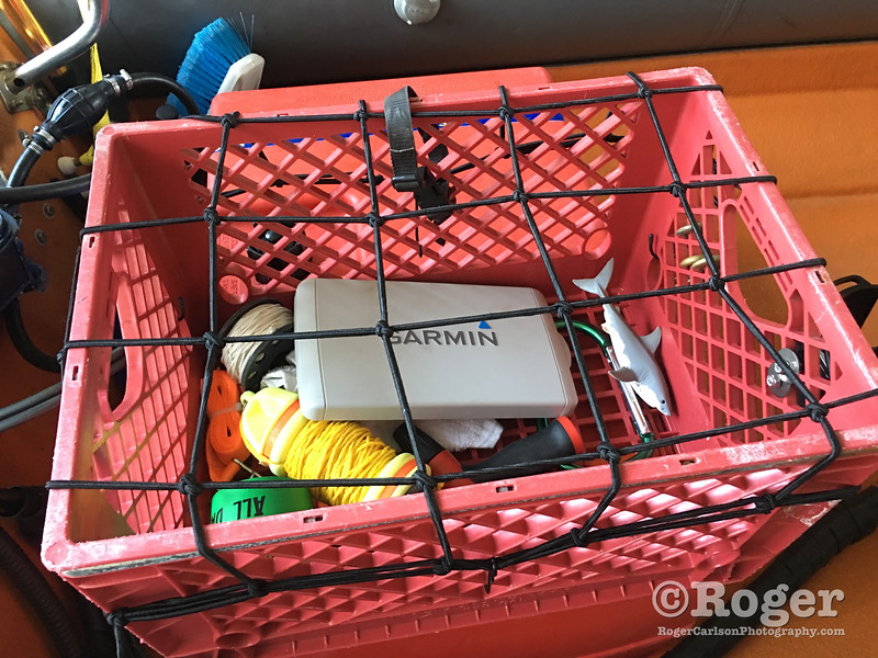 Milk Crate Cargo Bin