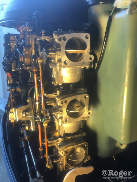 Nissan 90HP outboard 1992 NS90