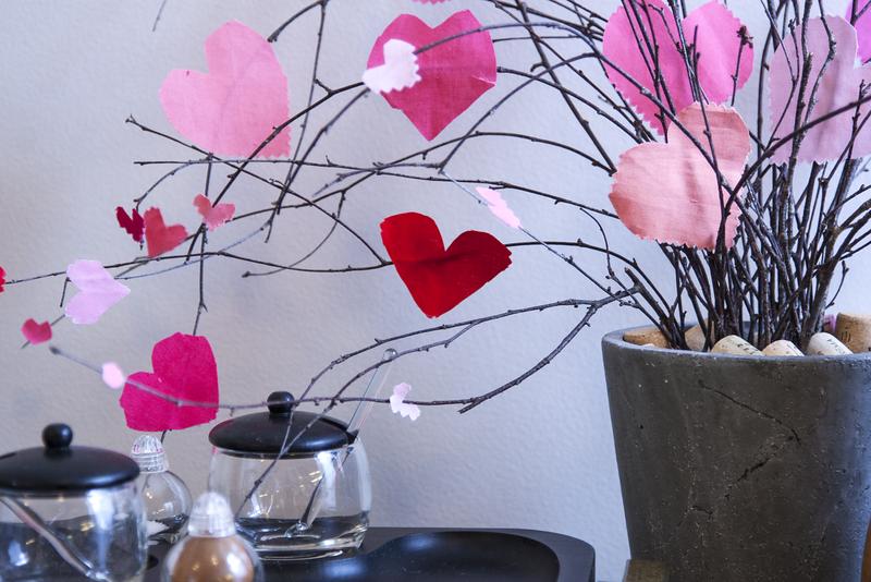 Fabrics Heart Tree
