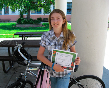 Heather, another successful participant (Bike Adventure)