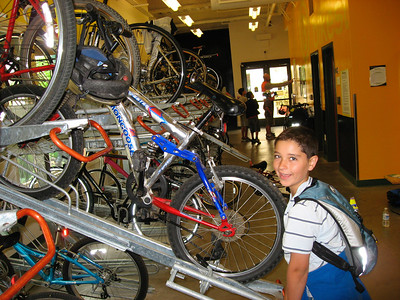 Ryan at the Bike Station (Bike Adventure)