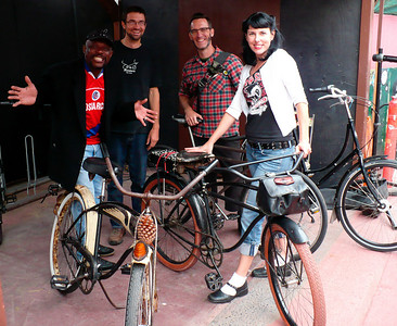 Cool people with cool bikes