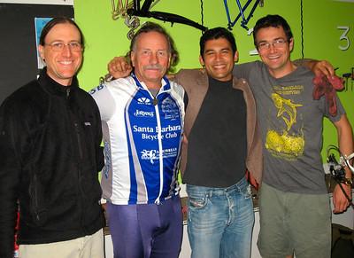 Dave Bourgeois, Drew Hunter, Das Willians & Ed France