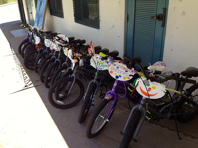 18 bikes to be donated at Adams Elementary School
