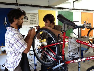 Youth Bikes Build (Aug 2013)