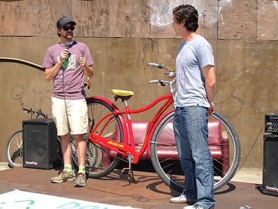 Ed, executive director of the Santa Barbara Bicycle Coalition & Michael Chiacos, president of SBBC