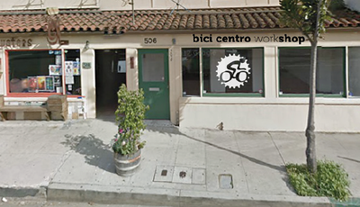 506 E. Haley St: new location for Bici Centro