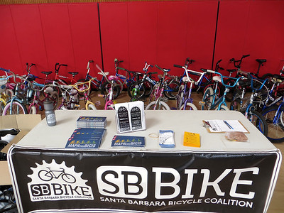 28 bikes ready to donate to children who don't have one