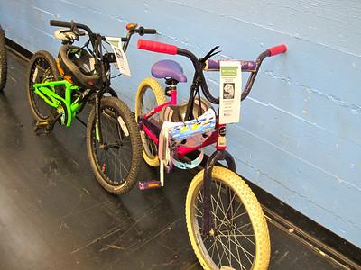 2 donated bikes