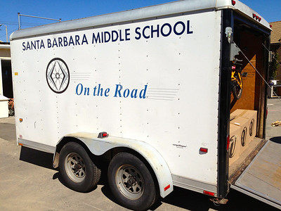 Thank you to SBMS for lending a trailer