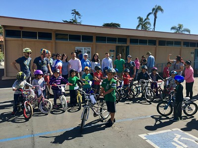 Bike GiveAway for Open Streets Carpinteria: April 2017