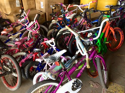 Bike GiveAway for Lompoc Open Streets (July 2017)
