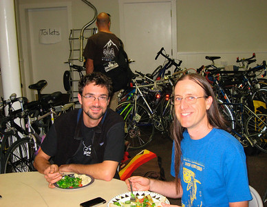 Ed & Dave (Bici Centro, Santa Barbara) are getting ready for their presentation