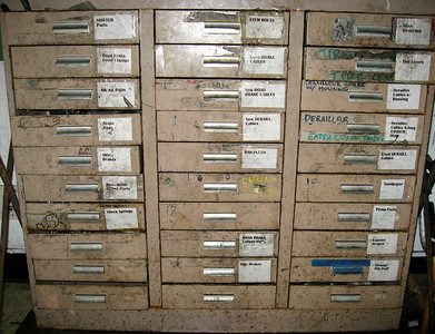 Nice file cabinet for small parts