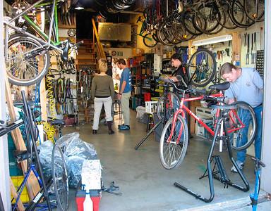 Very organized shop