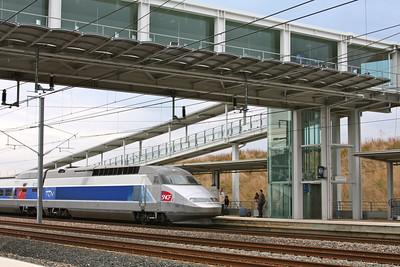 Train station to go to Strasbourg