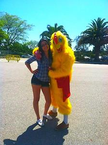 Vivi & chicken